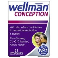Wellman Conseption vitamiinid meestele 30 tbl