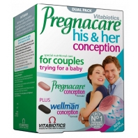 Pregnacare His and Her Conception vitamiinid 60 tbl