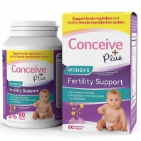 Conceive Plus Women's Fertility Support vitamiinid 60 kapslit