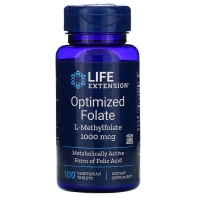 Life Extension Folaat 1000mcg 100 tbl