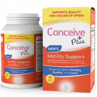Conceive Plus Men's Sperm Motility Support vitamiinid meestele 60 kapslit
