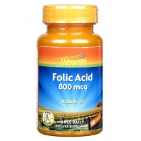 Thomson Folic acid 800mcg with B12 vitamin