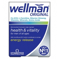 Wellman vitamins for men (30 pcs)