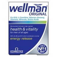 Wellman Original vitamiinid meestele 30 tbl